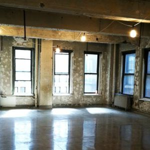 Raw Space in Hudson Square